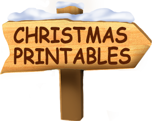 Free Christmas printables for kids, including letters from Santa Claus